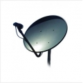SATELLITE DISH_ HILLS_ 65CM KU BAND OFF SET_ FF607000B